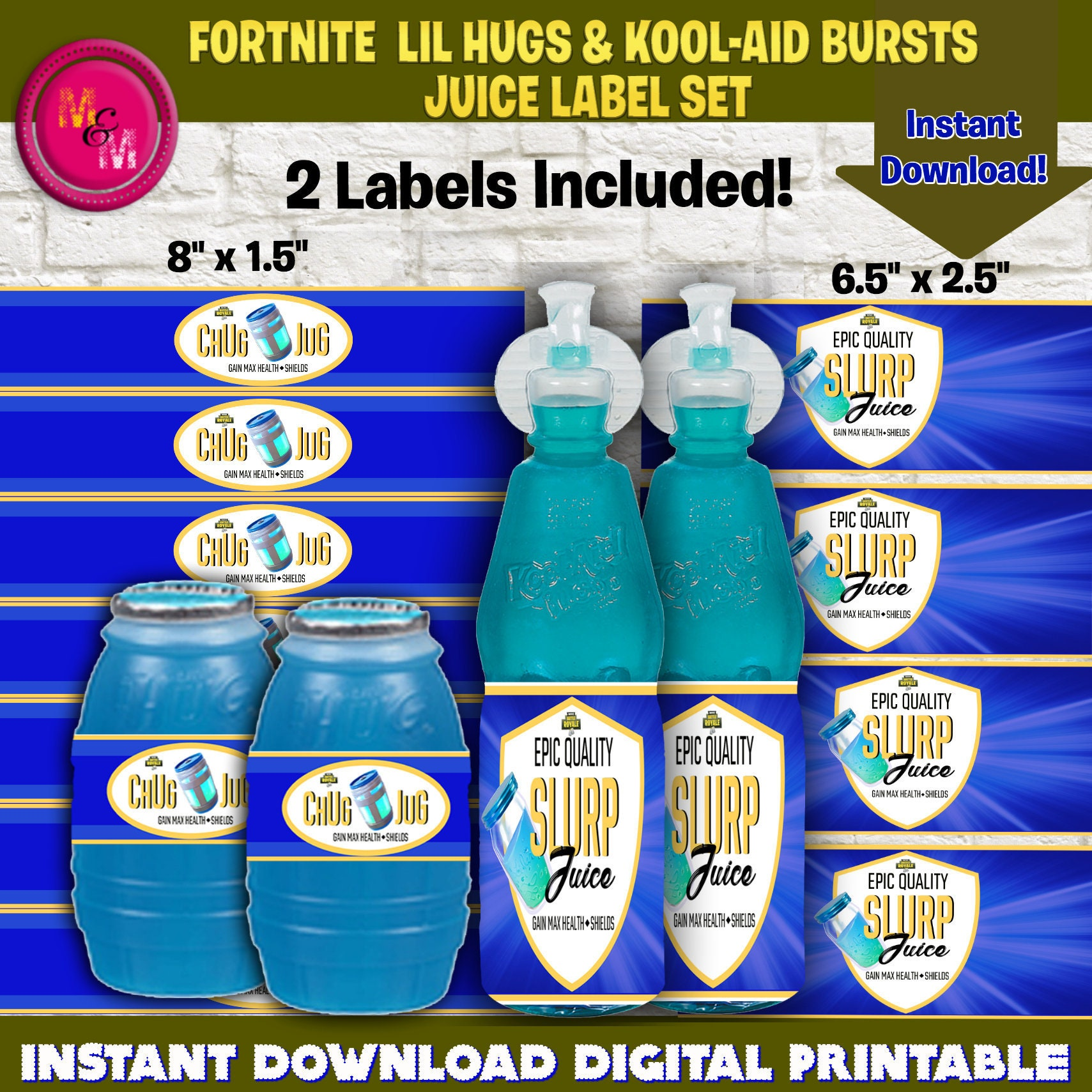 picture regarding Free Fortnite Printable Labels named Cost-free Fortnite Printables Chug Jug Fortnite Hacker Fails