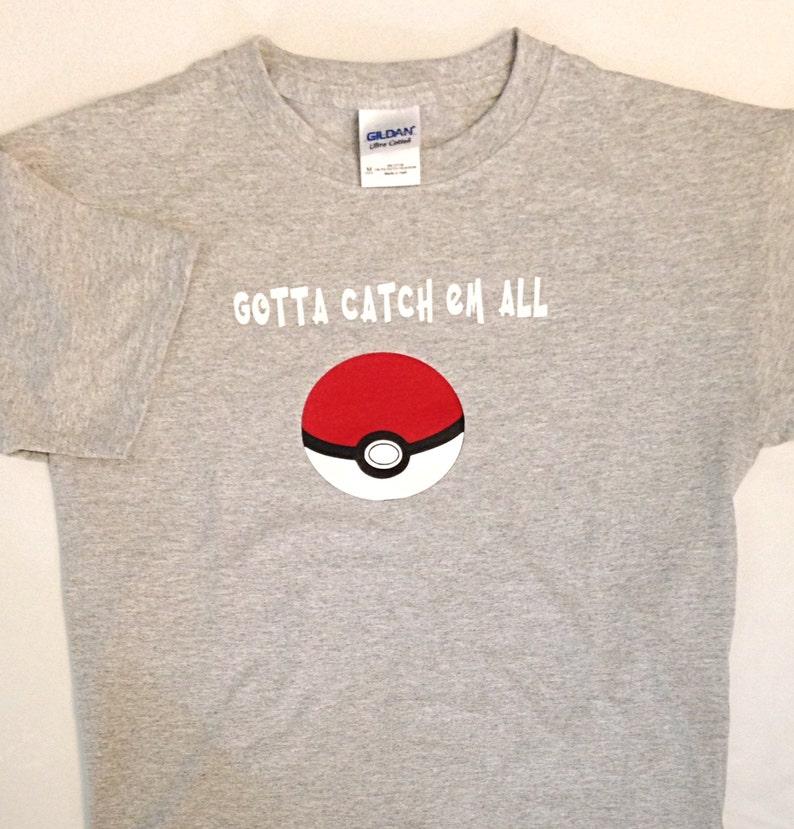 b451049c Pokemon/Pokemon Go/Pokemon clothing/Pokemon ball/Gotta catch | Etsy