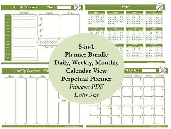 weekly planner printable task list daily planner weekly etsy