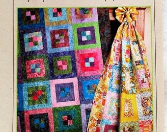 """Bits 'N Pieces Quilt Pattern ~ """"Grape Jam"""" #1120"""