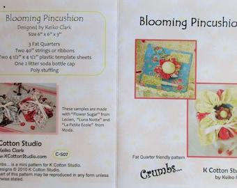 "Crumbs...K Cotton Studio ~ ""Blooming Pincushion""  #C-507"