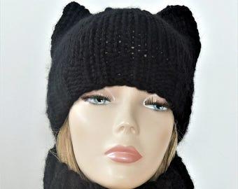 acfbc8cd2bd Cat Ears Hat Pattern Crochet Hat Pattern Cat Hat Crochet