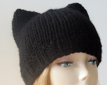 KNITTING PATTERN - Cat Ears Hat