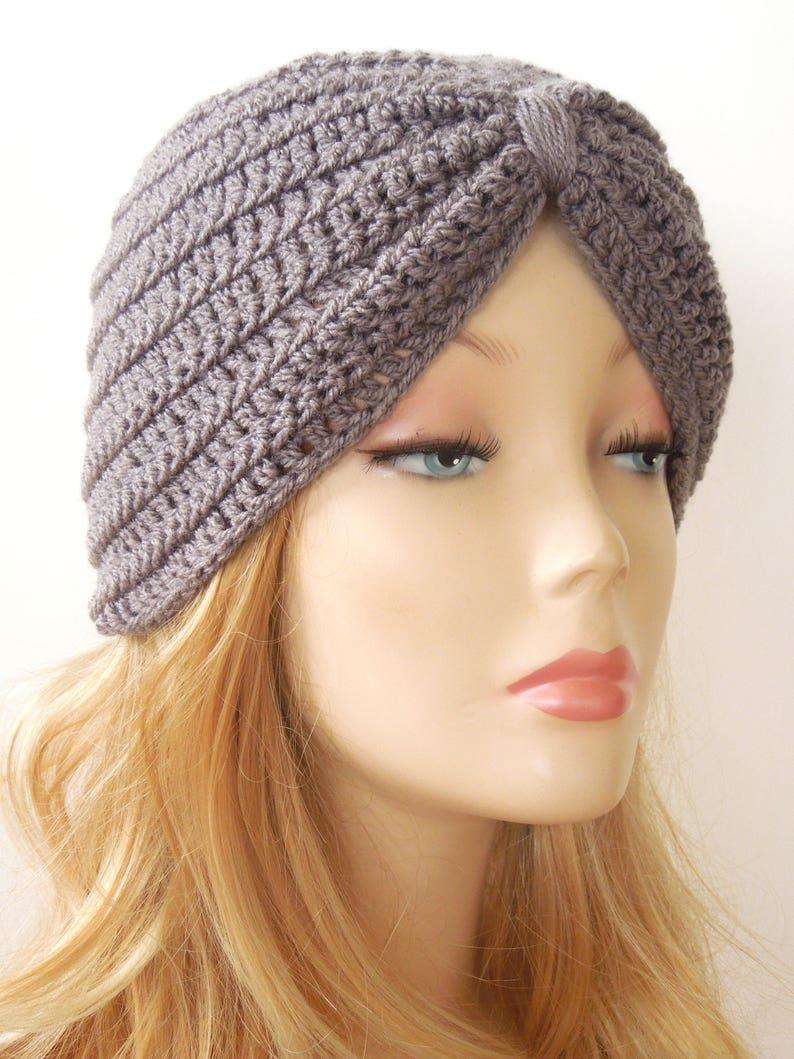 19aba111fcf Turban Hat Crochet Pattern Head Wrap Turban Headwrap Turban