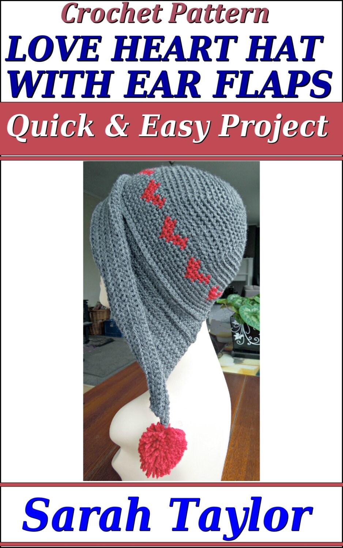 8f44d46d9 Easy Crochet Beanie With Ear Flaps