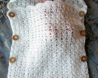 Sleeping Sack Crochet Pattern, Sleep Sack Newborn, Sleep Sack for Girls, Swaddle Blanket, Sleeping Bag, Swaddle Sleep Sack, Cocoon Swaddler