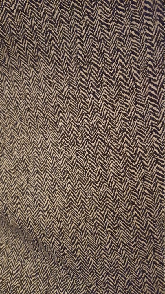 Two Piece Herringbone Suit - image 8