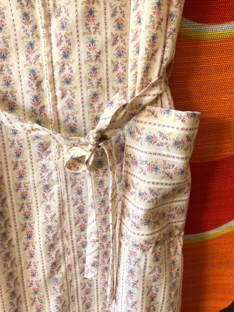 Vintage 70/'s 80/'s Loungewear Room Wear Nightgown Dress Mid Century Modern Retro Mod Hippie Boho M-L