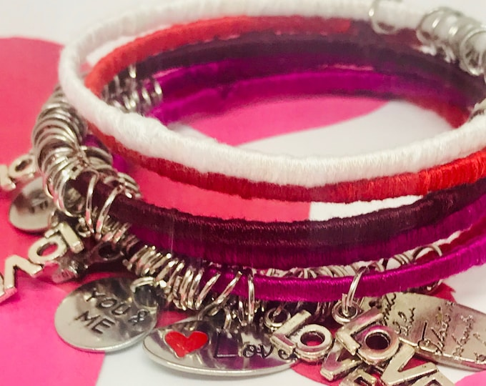Valenties Bangle Bracelets