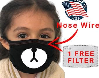 Roblox Bear Mask For Kids Kids Bear Mask Etsy