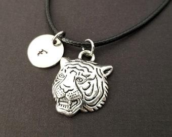 Tiger Bracelet Animal Bracelet Tigress Bracelet Tiger Cord Bracelet Cord Bracelet Best Friends Bracelet Tiger Charm Bracelet