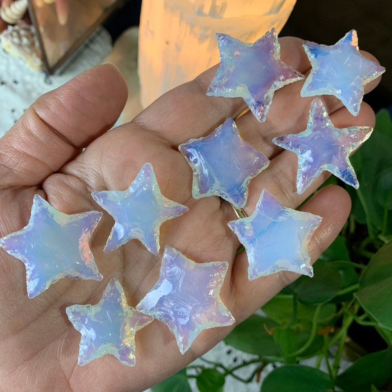 One Opalite Star Carving Chosen At Random // Psychic image 0