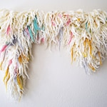 Whimsy- Woven Wall Hanging- Merino Wool Tapestry