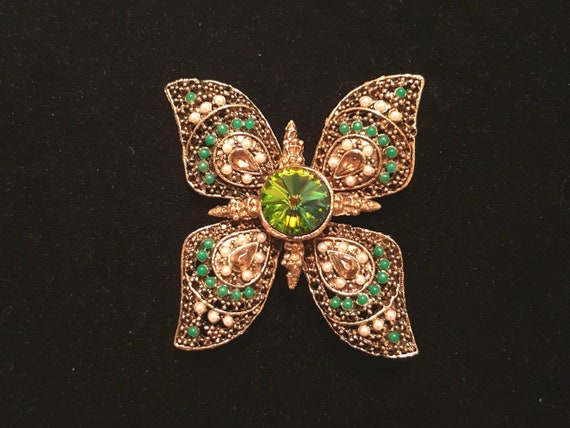 Vert Papillon Perles tchèque Papillon Perles Vert Clair Perles Vert tchèque Perl
