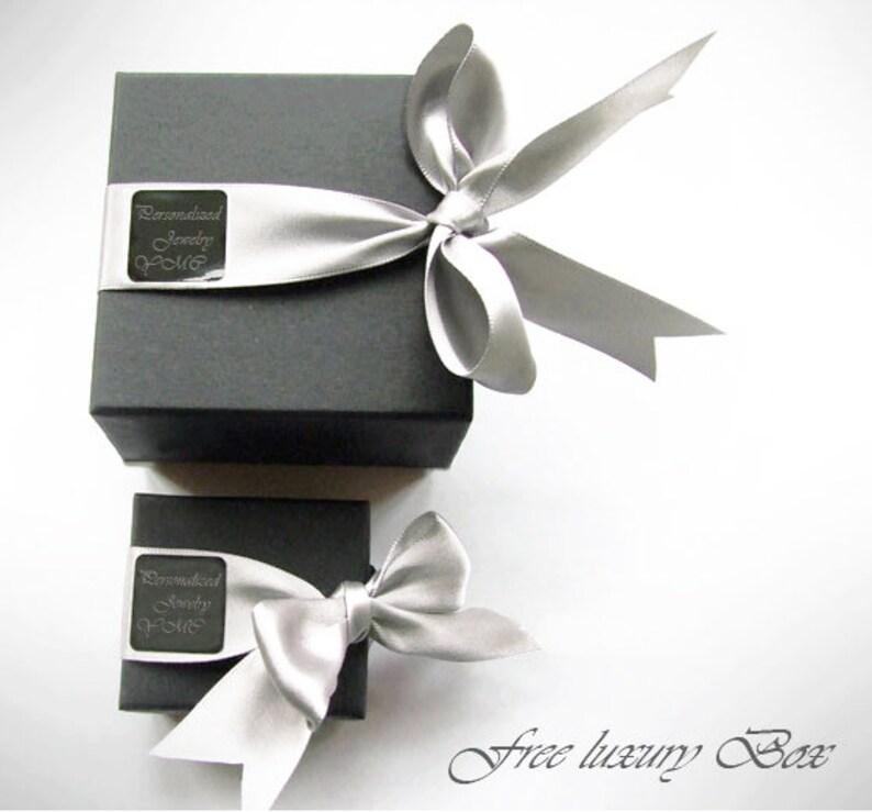 NICKEL FREE Personalized Cufflinks Block Monogram 925 Sterling Silver Cufflinks Custom Engraved Wedding Cufflinks
