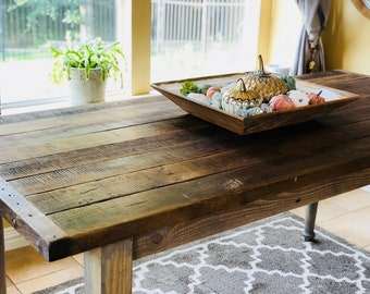 Genial Classic Counter Height Table | Farm House Table | Reclaimed Wood Table |  Salvaged Wood Table | Farm House Style | Harvest Table