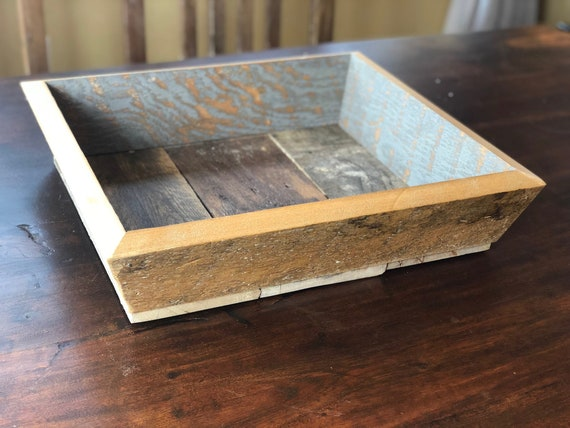 "18"" Barn Wood Tray 