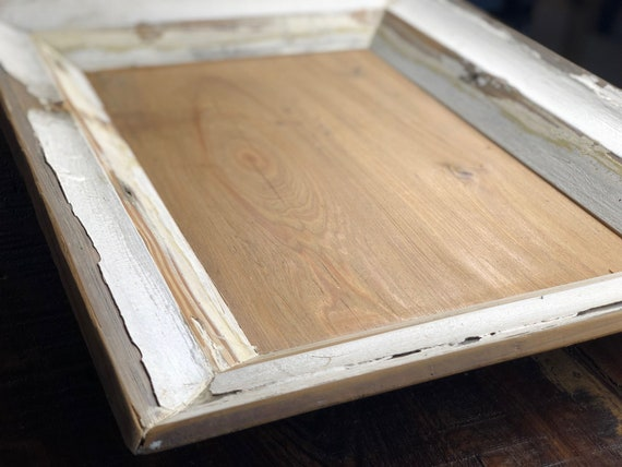 "16"" Salvaged Architectural Moulding Tray 