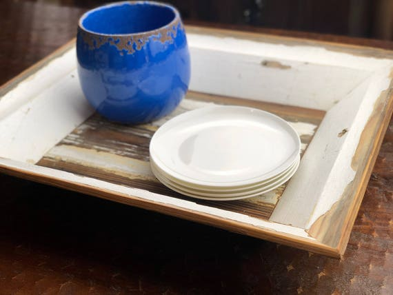 "22"" Salvaged Architectural Moulding Tray 