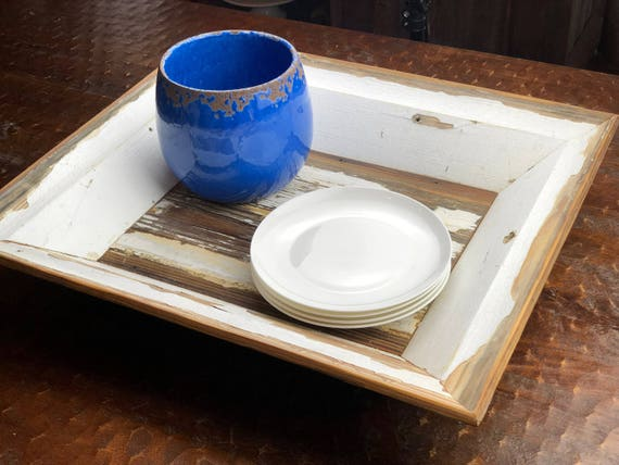 """22"""" Salvaged Architectural Moulding Tray 