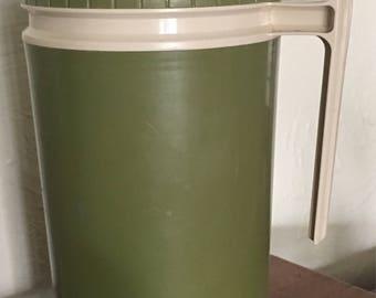 Vintage Avocado Green Thermos