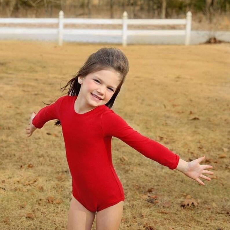 28881c789ede Red Leotard Ballerina Valentines Day Leo Only Girls