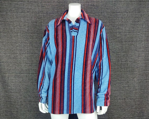 Vintage Sweater / 1980s 80s / 1970s 70s / Striped