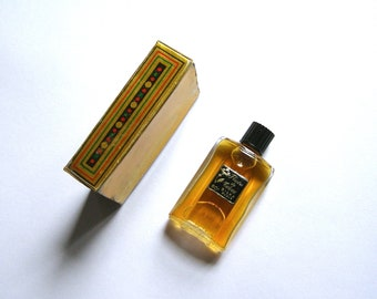 vintage perfume / scent/toiletries/antiquityfrench/silka water - paris/flower/miniature/collection perfume scent