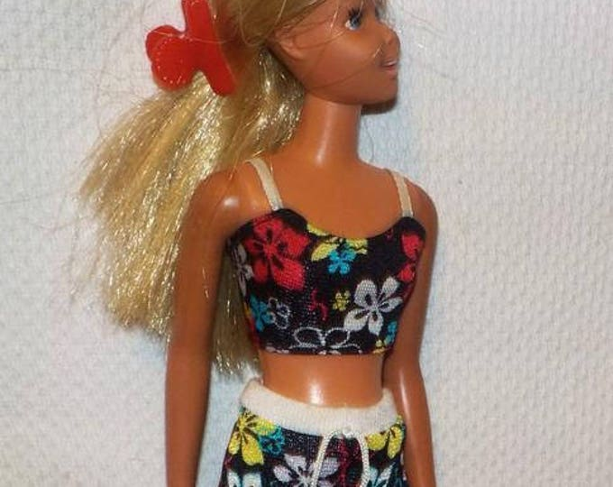 Vintage 1970's Mattel Sunset Malibu Francie Barbie Doll