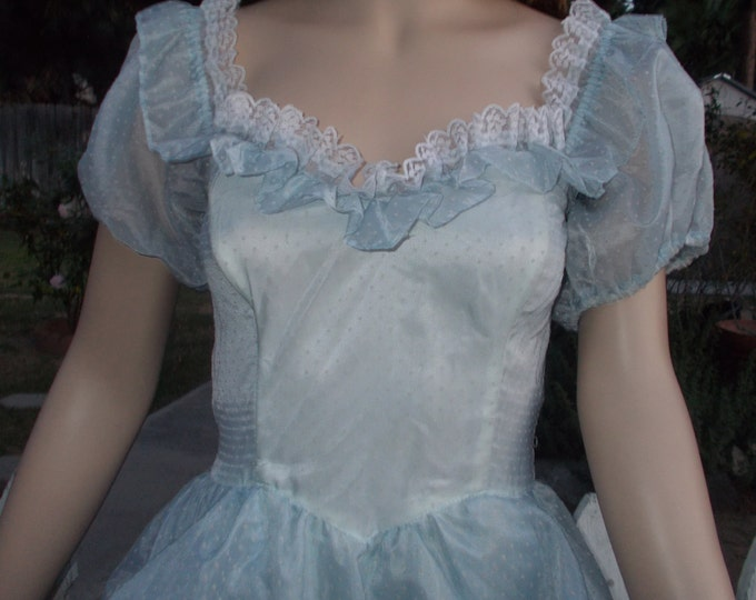 Vintage 70's Jessica McClintock Women's Cinderella Dress