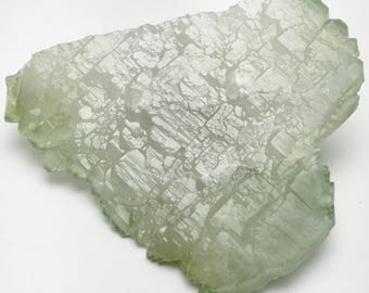 RESERVED for Rachel - AA - Unforgettable Cluster of Terminated Skeletal Green Quartz Crystals from Madagascar