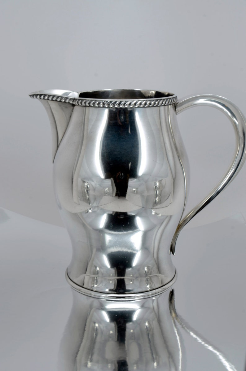 a02e5c4ae Paul Revere Reproduction Sterling Silver Water Pitcher made | Etsy