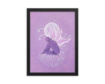 Purple Passion - Framed poster