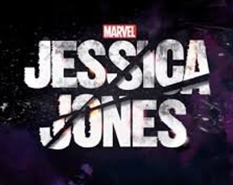 Jessica Jones Themed Scarf!