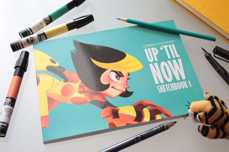 Sketchbook 1 / UP 'TIL NOW image 1