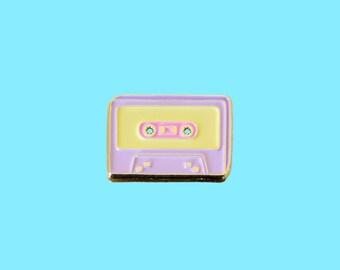 SALE - Enamel Pin / Lapel Pin - Deluxe Mixtape