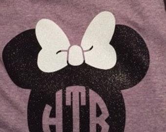 Minnie Monogram Shirt