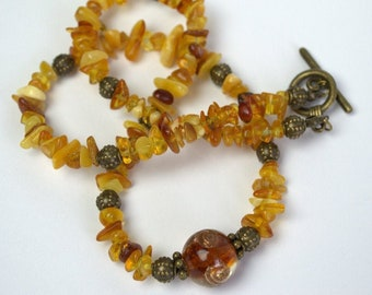 Dark Cerry Genuine Baltic Amber Collier 55 cm 21.5/""