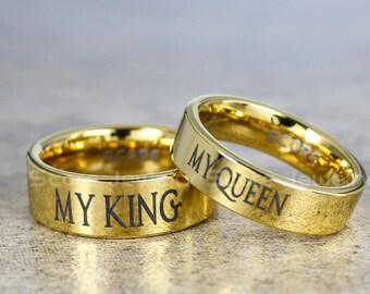 My King Ring Etsy
