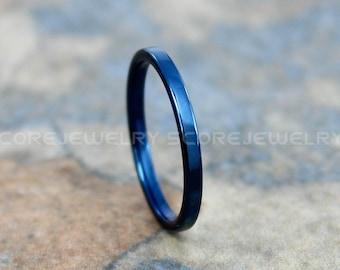 Blue Wedding Band Etsy