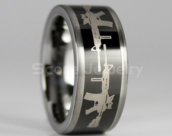 armed forces ring etsy