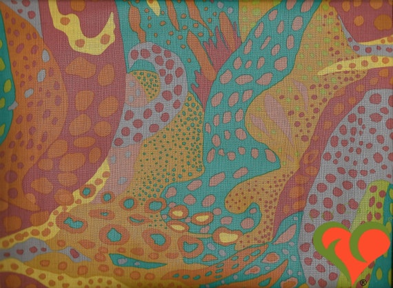 Rose fq fat quarter tissu écailles motifs mixte 100/% coton quilting