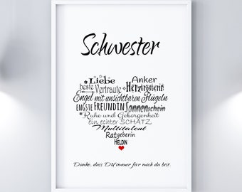 Print / Druck SCHWESTER