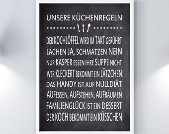 Print/Printing Kitchen Rules Table optics