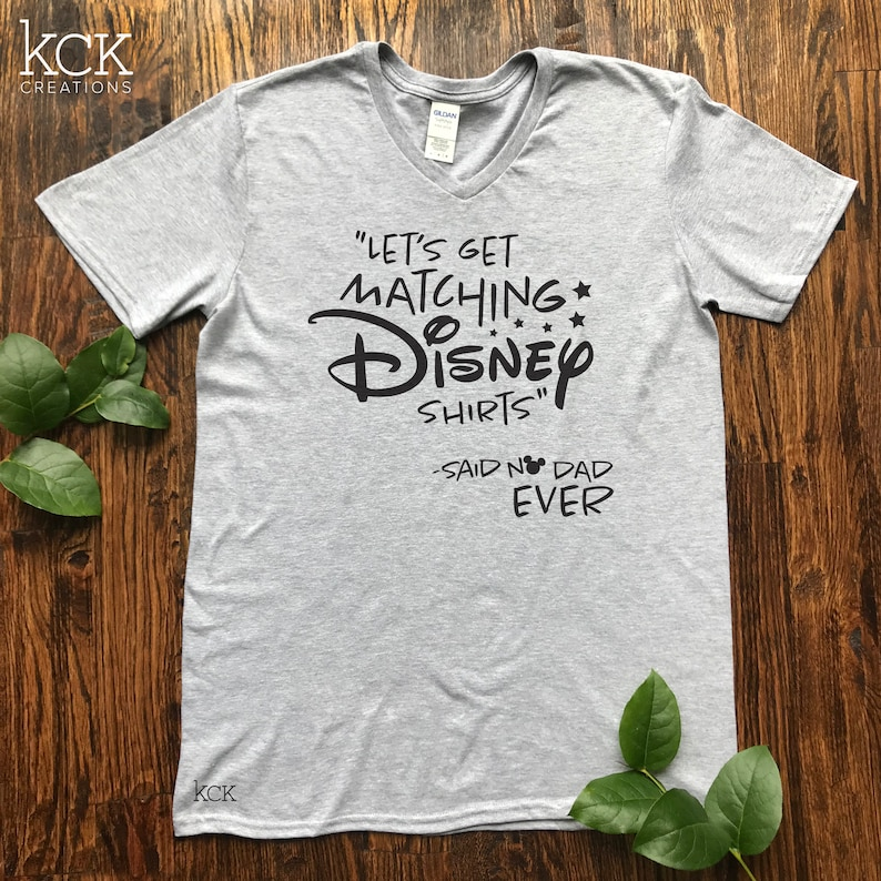 da00a026e8 Disney Dad Shirt / Let's get matching Disney shirts said | Etsy