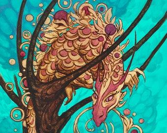 Pixie Dragon (archival print)