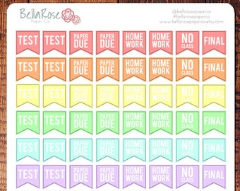 mini college student planner stickers student stickers for etsy