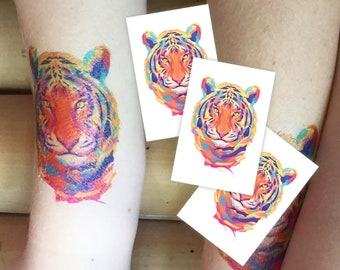Tiger Tattoo Etsy