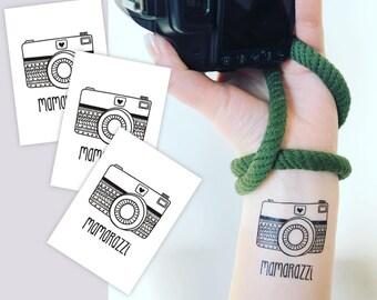 Camera Tattoo Etsy