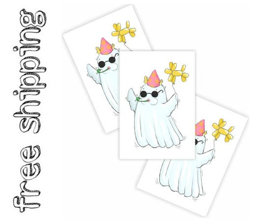 Finish Line Free Shipping Trick >> Set Of 3 Temporary Tattoos Ghost Party Halloween Trick Or Treat Bag Supply Great To Finish Kids Halloween Costume Skin Safe Tt244